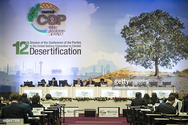 12th Session of the Conference of the Parties to the United Nations Convention to Combat Deserticification is held in ATO Congresium in Ankara Turkey...