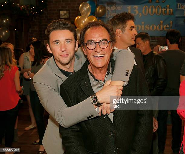 LIVES 13000th Episode Celebration Pictured Billy Flynn Thaao Penghlis