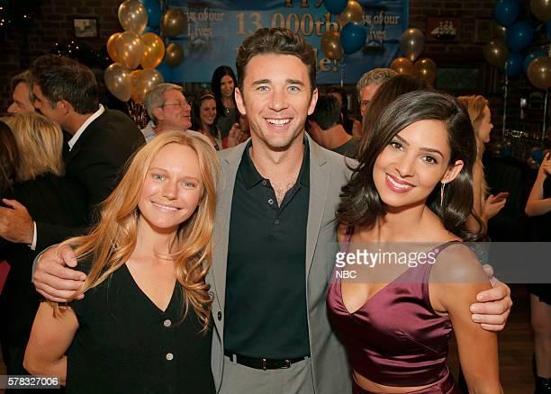 LIVES 13000th Episode Celebration Pictured Marci Miller Billy Flynn Camila Banus