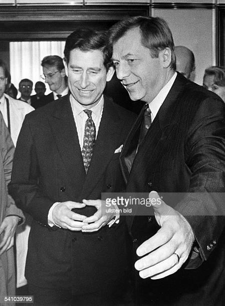 *Politiker CDU BRDmit Prinz Charles 1991