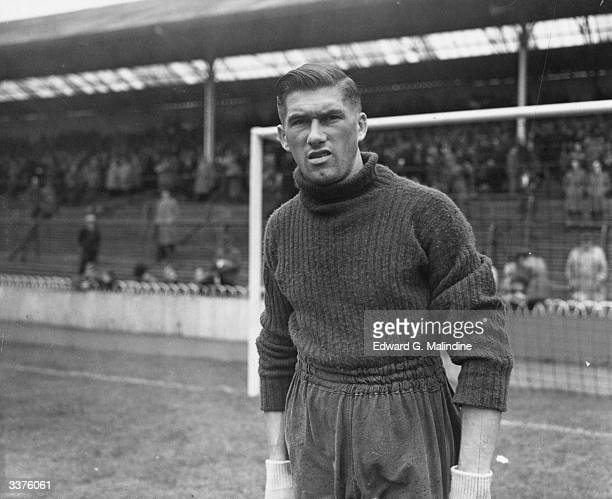 British footballer R Reynolds goalkeeper for Tottenham Hotspur