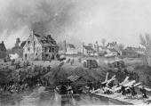 The attack on Fredericksburg Virginia during the American Civil War The confederates under Robert E Lee defeated the Union troops after three days of...