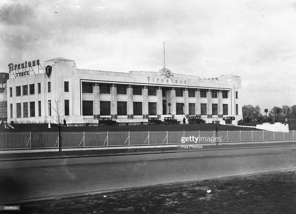 The Firestone tyre factory on Great West Road.