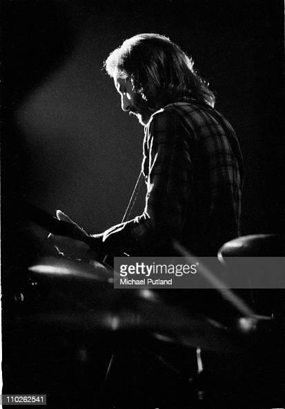 Jan Akkerman of Focus perform on stage at the Edmonton Sundown London 13th January 1973
