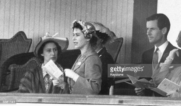 Princess Margaret Princess Elizabeth and Group Captain Peter Townsend in the Royal Box at Ascot In 1955 Princess Margaret was refused permission to...