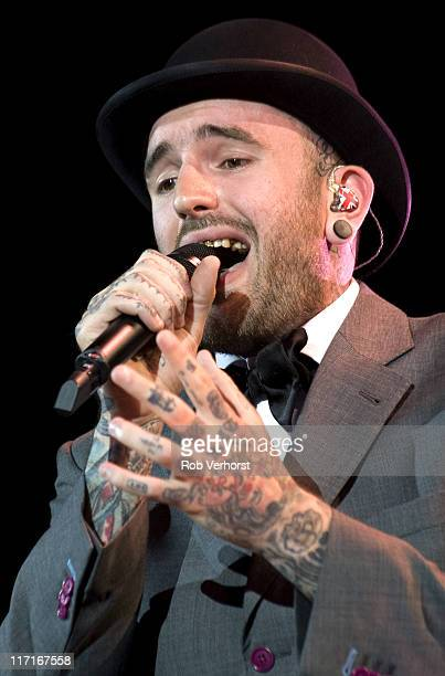 singer Ben Saunders performs live on stage at the Gelredome in Arnhem Netherlands on 13th May 2011