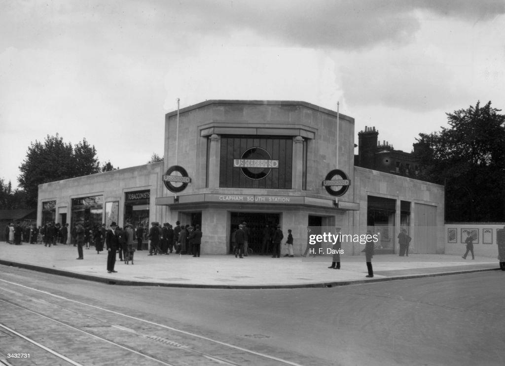 Clapham South tube station