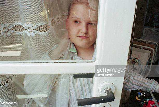 13yearold Pawel Loroch looks at the window at Litewska Hospital He has just undergone chemotherapy for his lymph nodes