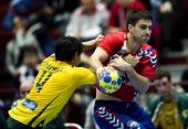World Championship Malmø Serbia vs Australia Nenad Vuckovic Serbien / Serbia Bevan Calvert Australien / Australia ©Lars Rønbøg / Frontzonesport