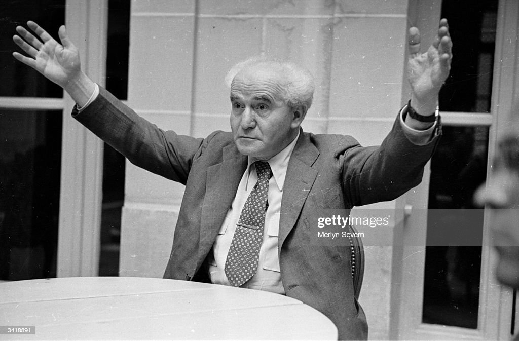 David BenGurion Israeli politician and Trade Unionist Original Publication Picture Post 4273 What The Zionists Will Ask For pub 1946
