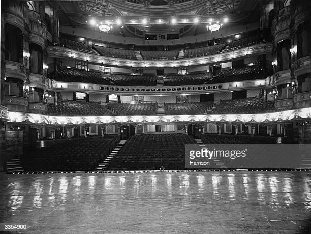 The London Coliseum as seen from the stage