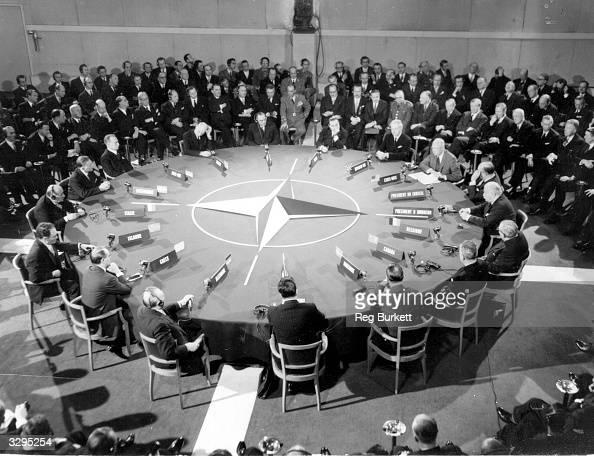 The opening speech at the NATO Summit talks in Paris