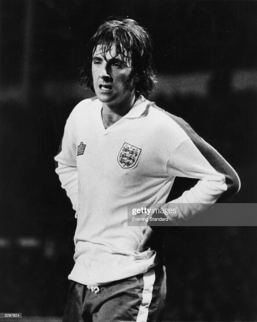 The Leyton Orient and England footballer, Stan Bowles.
