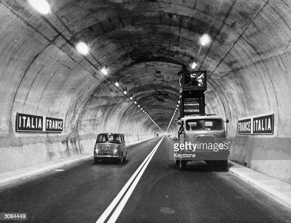 mont blanc tunnel stock photos and pictures getty images