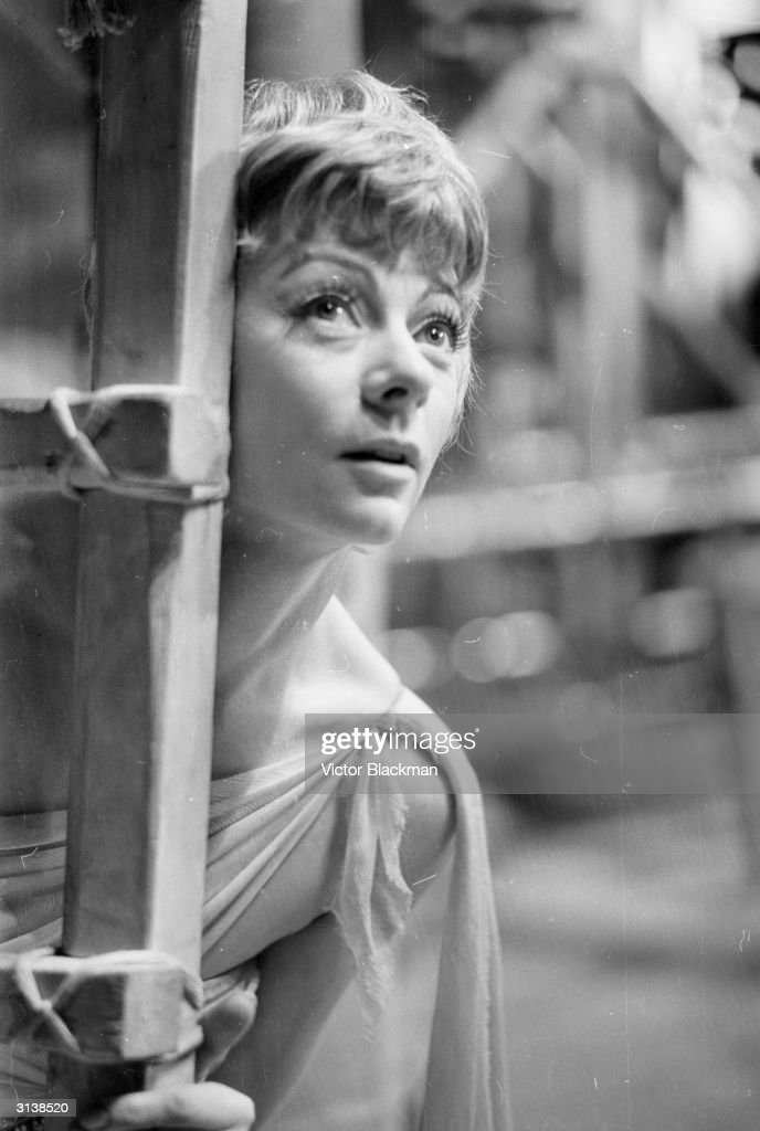 British actress Geraldine McEwan stars in a stage production of 'The Little Hut'.