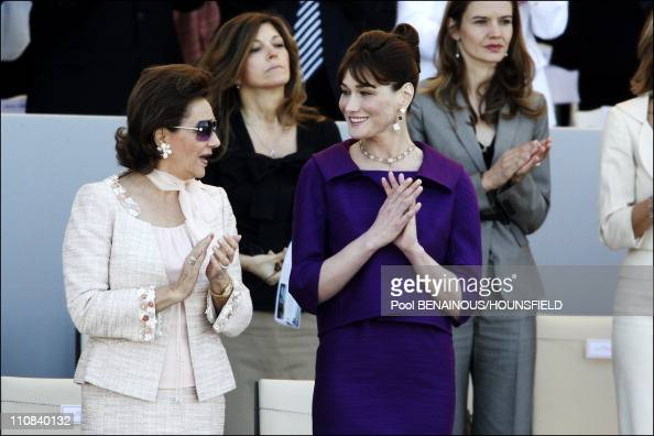Suzanne Mubarak Stock Photos and Pictures