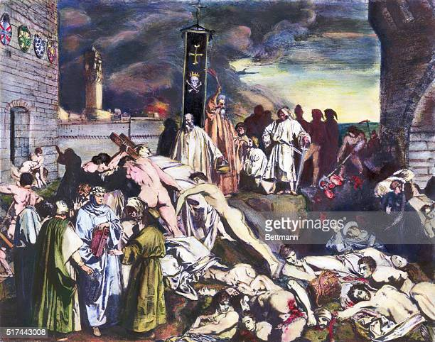 14thcentury plague of Florence as described by Giovanni Boccaccio