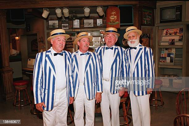 WINGS '150th Episode Party' Pictured Barber shop quartet