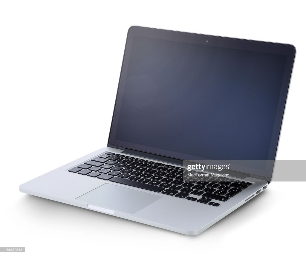 A 15-inch MacBook Pro with Retina Display photographed on a white background, taken on November 8, 2013.