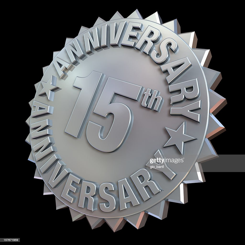 15Th anniverary medal