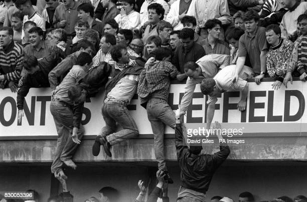 On the day in 1989 overcrowding at the Liverpool v Nottingham Forest FA Cup semifinal football match led to the deaths of 95 people Liverpool fans at...
