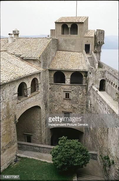 15th century Orsini Odescalchi Castle in Bracciano Italy