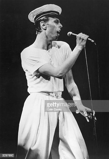 David Bowie playing the City Hall Newcastle at the start of his 1978 British concert tour