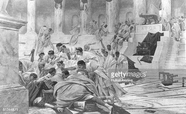 brutus killing of caesar in the story assassination of julius caesar He took a leading role in the assassination of julius caesar brutus was marcus junius brutus one who give the killing blow to caesar though his.