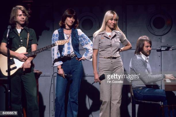 Photo of Benny ANDERSSON and Agnetha FALTSKOG and ABBA and AnniFrid LYNGSTAD and Bjorn ULVAEUS LR Bjorn Ulvaeus AnniFrid Lyngstad Agnetha Faltskog...