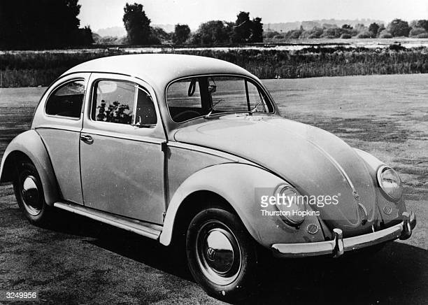 The 'People's Car' the Volkswagen Beetle Original Publication Picture Post 8703 Fashion Kings Of The Car World pub 1956