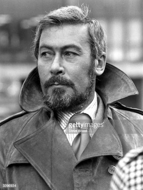 British playwright and actor John Osborne