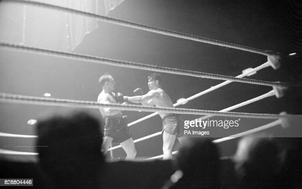 On this day in 1947 the biggest British boxing event since the end of the war took place at Harringey Arena London British champion Bruce Woodcock of...