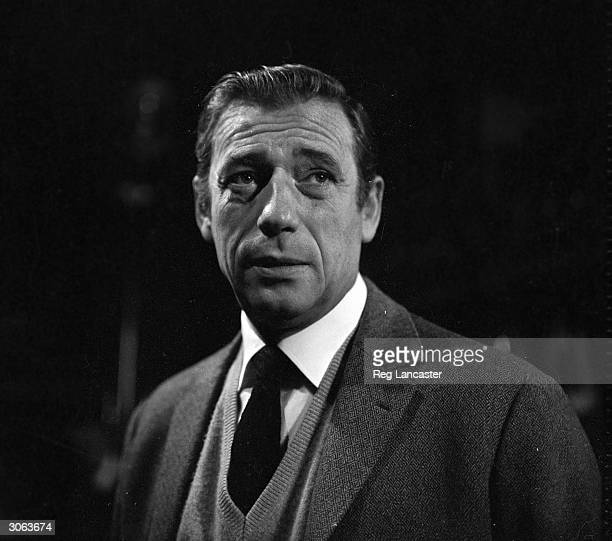 Italianborn French actor Yves Montand who was discovered by singer Edith Piaf whilst working in the Marseilles docks