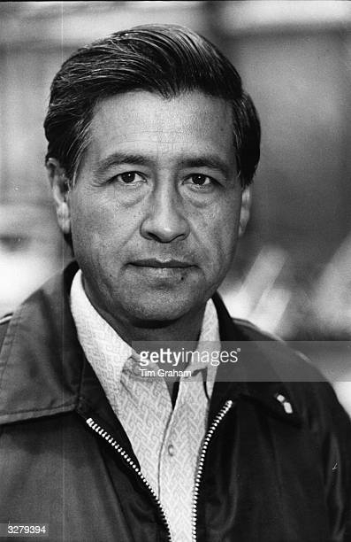 Leader of 200000 American farmworkers Cesar Chavez