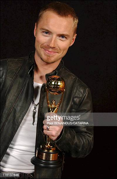 15th World Music Awards in Monaco Studio in Monaco City Monaco on October 12 2003 Ronan Keating