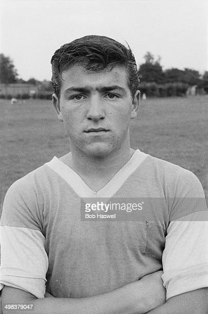 15yearold Terry Venables an apprentice footballer with Chelsea FC training in Dagenham park east London UK 10th August 1958