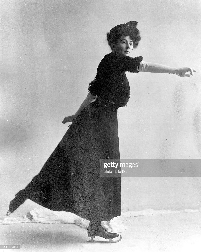*16091881British figure skaterat the Olympic Games in London 1908 winning the gold medal in the compulsory figures section