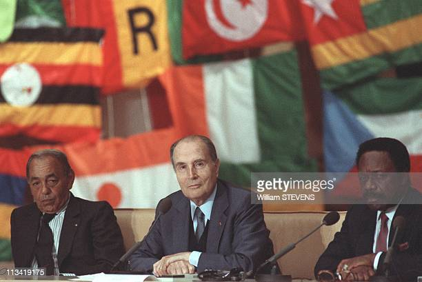 16Th FrancoAfrican Summit In Baule On June 20th 1990 In La BauleFrance