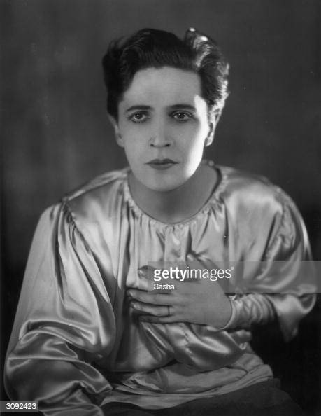 Welsh actor composer songwriter and dramatist Ivor Novello in the stage production of 'The Firebrand'