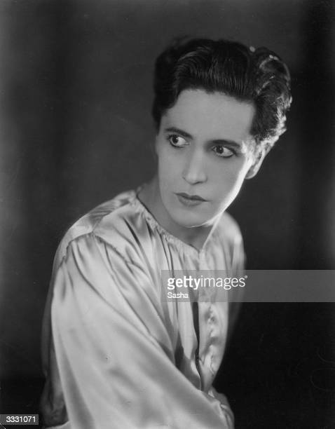 Welsh actor dramatist and composer Ivor Novello in 'The Firebrand' running at Wyndhams Theatre London