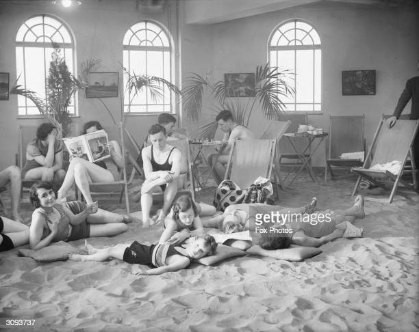 Sun lovers enjoy Branksome Solarium near Poole Dorset with its sanded floor and artificial sunshine containing beneficial ultraviolet rays which can...