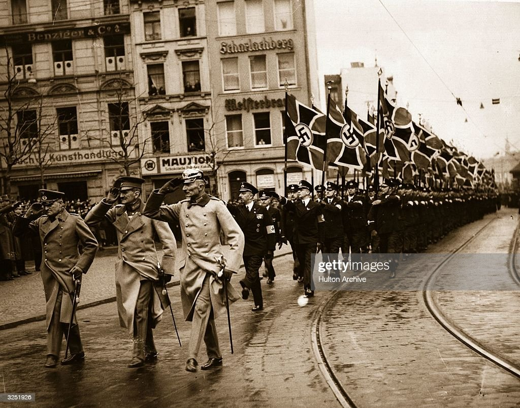 an overview of hitlers remilitarization of the rhineland in march 1936 By january 1936, hitler had made the decision to reoccupy and militarize the  rhineland he had originally planned to remilitarize this area in 1937, but  decided.