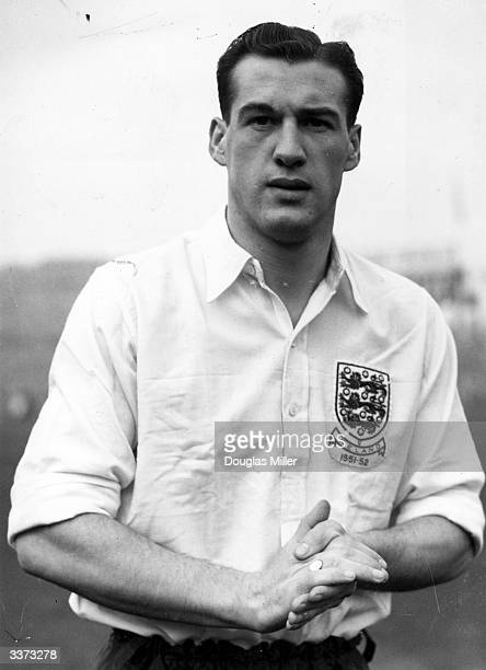 Bolton Wanderers and England football player Nat Lofthouse
