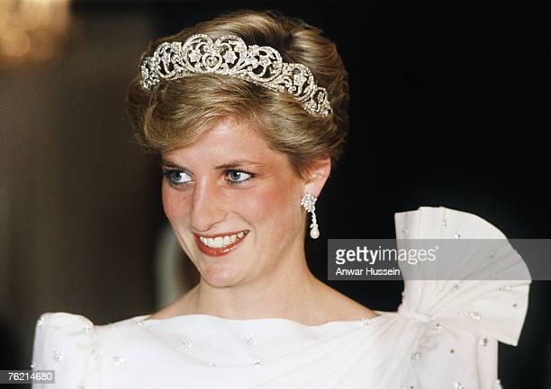 Princess Diana Princess of Wales in November 1986 during a visit of Bahrain