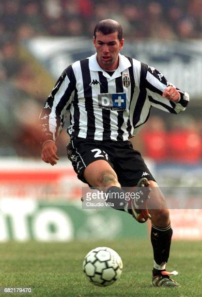 A 16th round PARMA Vs JUVENTUS 11 ZINEDINE ZIDANE of Juventus in action