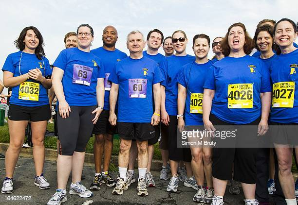 DC MAY 16th Senator Jack Reed poses for a team photograph before the ACLI Capital Challenge 5k running Race in Anacostia ParkMay 16th 2012 Photo...