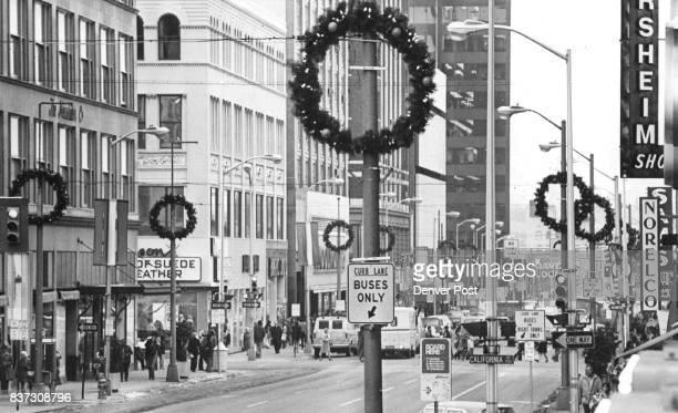 NOV 25 1975 16th St ***** from stunt street northwest Credit Denver Post Inc