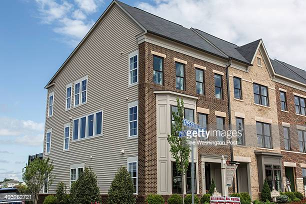 The Tremont and Delancy Model Homes at Brambleton on May 16 2014 in Ashburn Virginia