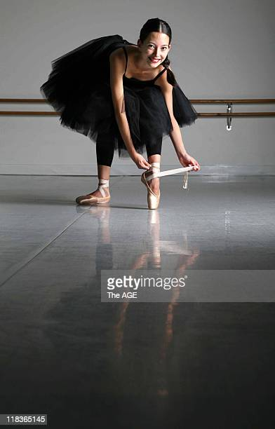 16yearold Australian Ballet School student Hannah O'Neill in a studio at the school in Melbourne Hannah has won the Internationally renowned Prix De...