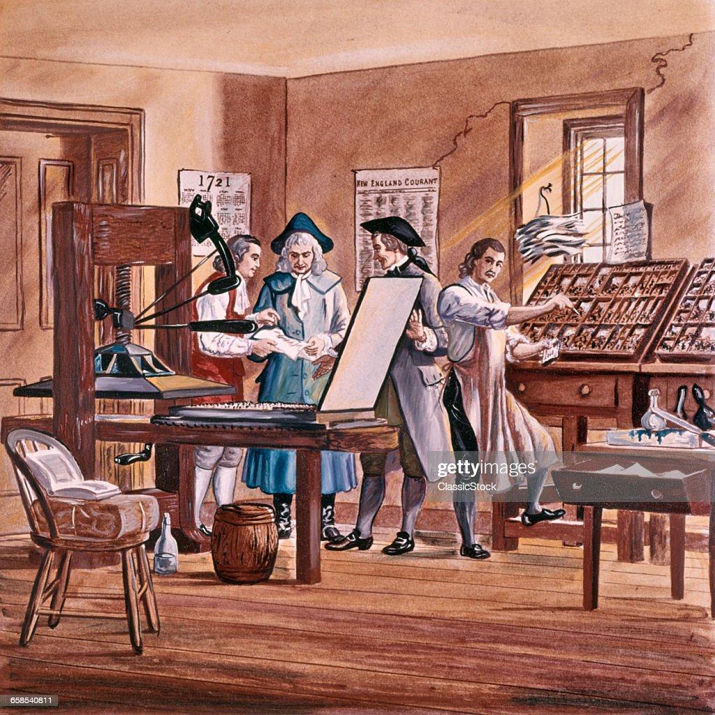 1700s 1721 BENJAMIN...